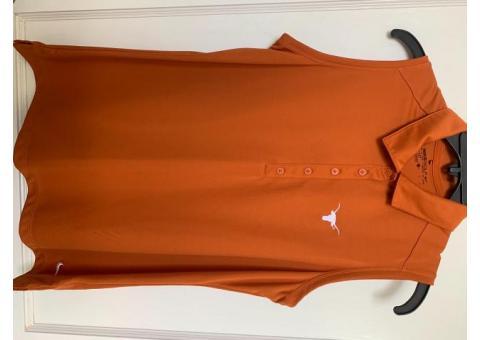UT Longhorn Ladies Golf Shirt